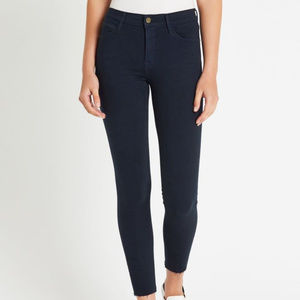NWT FRAME Le High Skinny Jeans in Navy